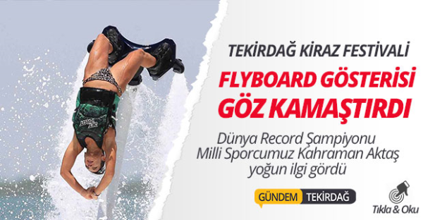 Flyboard Hero Show Team Gösterisi